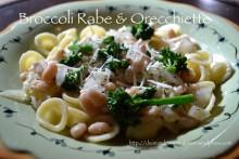 Broccoli Rabe and Orecchiette | cleanandgreennutrition.wordpress.com
