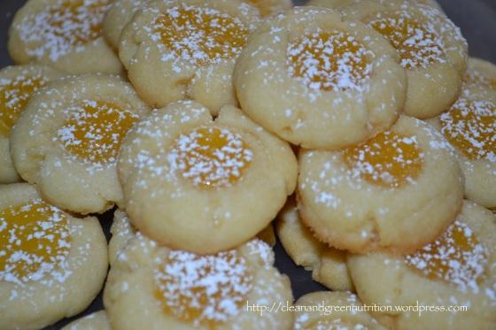 Stack Lemon Curd Cookies