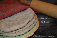 Whole Wheat Pita Bread | cleanandgreennutrition.wordpress.com