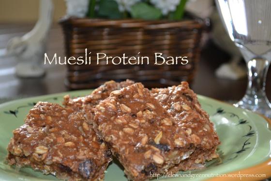 muesli protein bars