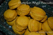 Pumpkin Angel Biscuits