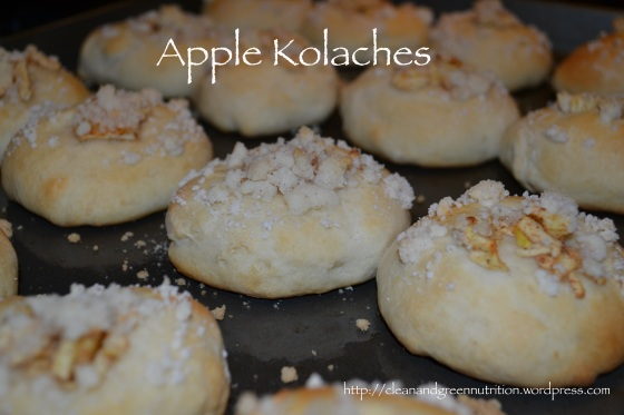 Apple Kolaches