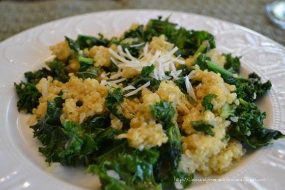 Parmesan-Quinoa